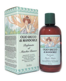 Ulei Bogat de Migdale Parfumat Muschi Alb