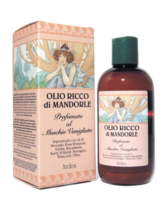 Ulei Bogat de Migdale Parfumat Muschi Vanilat